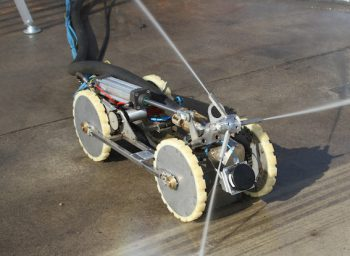 Tankreinigungsroboter T-Rex, Tankreinigung, Reinigungsroboter, Tankschutz, HWT Hansen