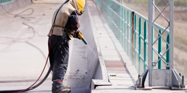 Betonsanierung, Betonbrücke, Sanierung, Betonbrücke sanieren, Brücke sanieren, HWT Hansen, Heizungsfirma, Sandstrahlfirma, HWT