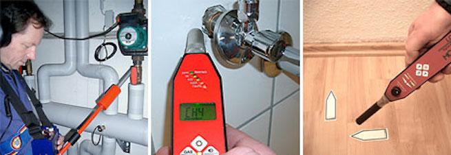 Trocknungstechnik, Leckageortung, HWT Hansen, Heizungsfirma, Heizung, Leitungswasserschäden, Wasserschaden,