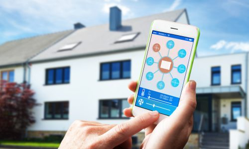 Smart Home, E-Technik, Intelligentes Heim, Innovation, Technik, Smarthome, Smartphone, HWT Hansen, Heizungsfirma